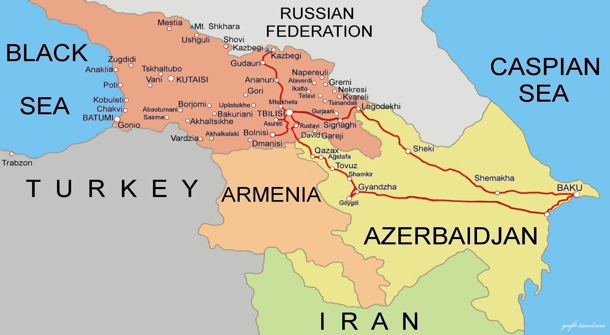 Baku Aserbaidschan Karte.Deutsche Erbschaft In Georgien Und Aserbaidschan Reisen