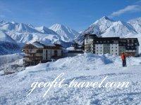 Zimowy urlop w Gudauri