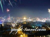 Новый год в Гудаури