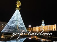 New Year in a welcoming embrace of Georgia