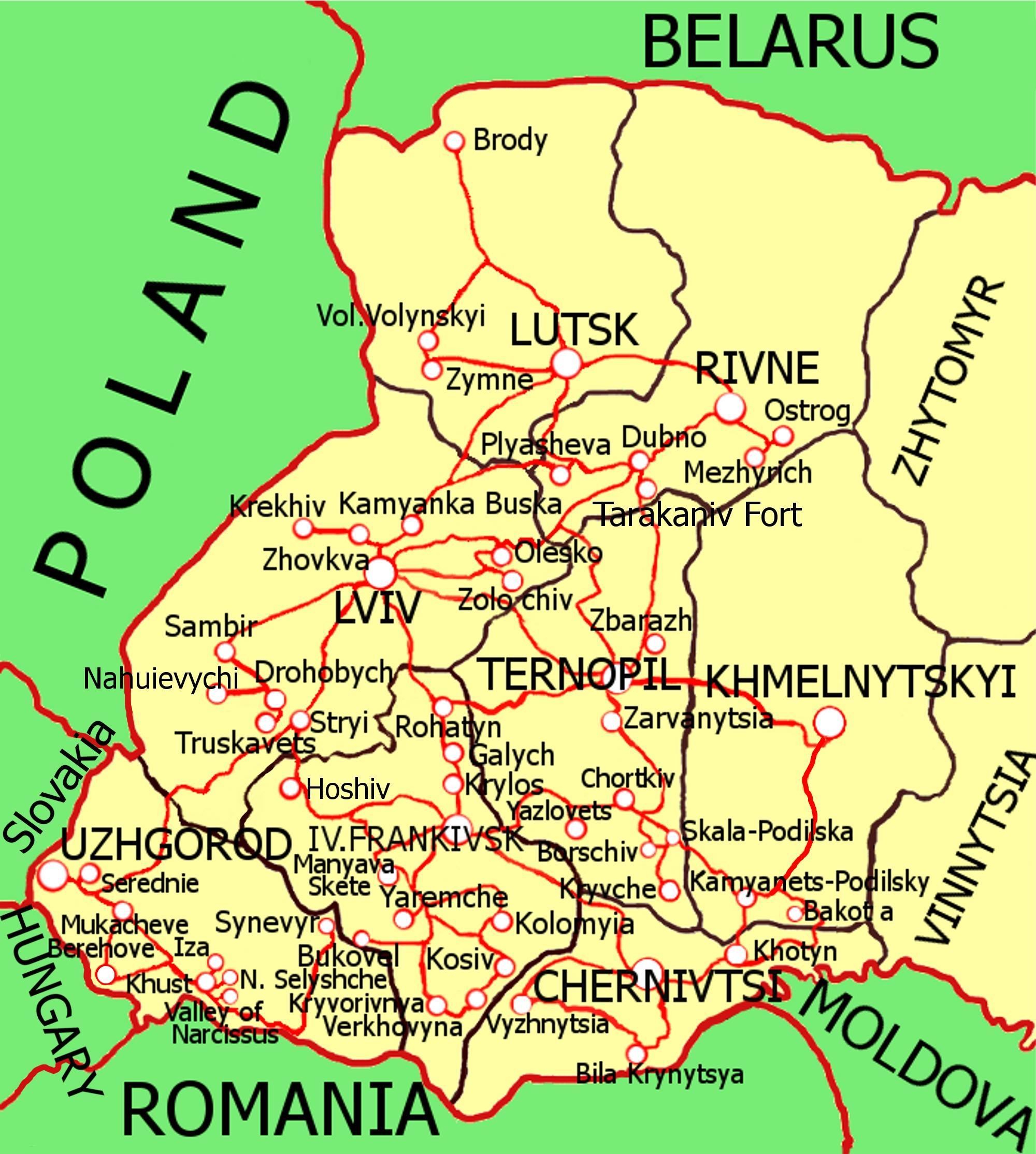 Туры по Украине, которые начинаются со Львова