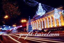 Christmas fairytale in Tbilisi