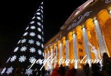 En cuento de Navidad en Tbilisi