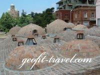 Los baños de azufre en Tiflis