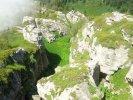 Cuevas, cañones y cascadas